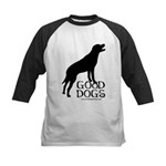 Good Dogs Kids Baseball Jersey