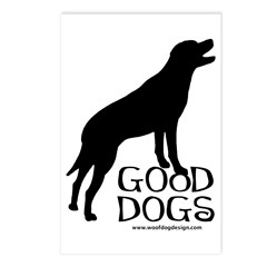 Good Dogs Postcards (Package of 8)