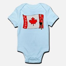 ...Canadian Mountie... Infant Bodysuit