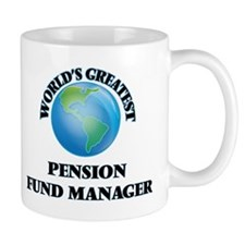 World's Greatest Pension Fund Manager Mugs