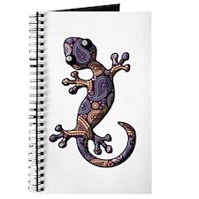 Blue Purple Paisley Journal