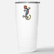 Calico Paisley Lizards Travel Mug