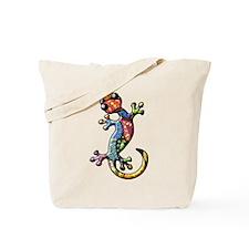 Calico Paisley Lizards Tote Bag