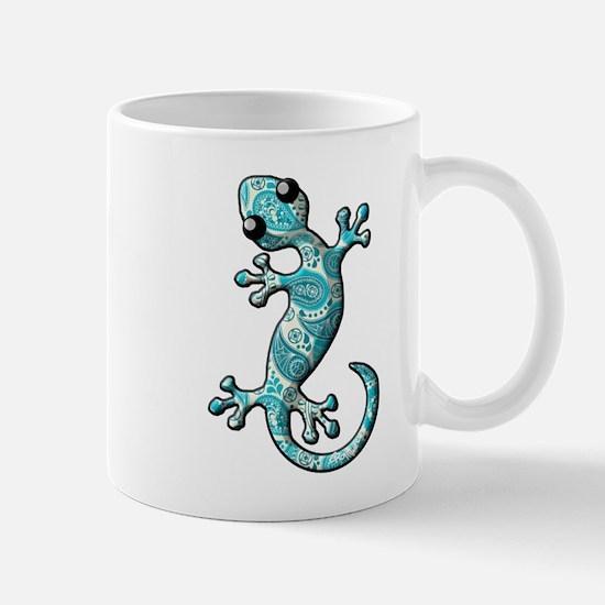 Turquoise Paisley Mug