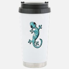 Turquoise Paisley Travel Mug