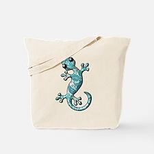 Turquoise Paisley Tote Bag