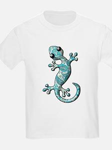Turquoise Paisley T-Shirt