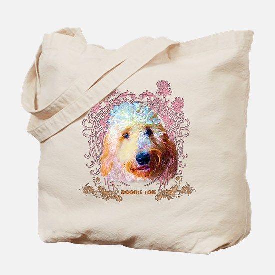 Doodle Love Tote Bag