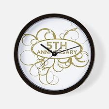 Cute Wedding anniversaries Wall Clock