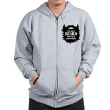 Great Beard - Great Responsability Zip Hoodie