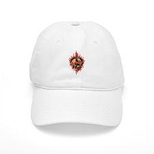 Red Fire Dragon Baseball Cap