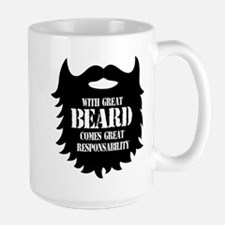 Great Beard - Great Responsability Mugs