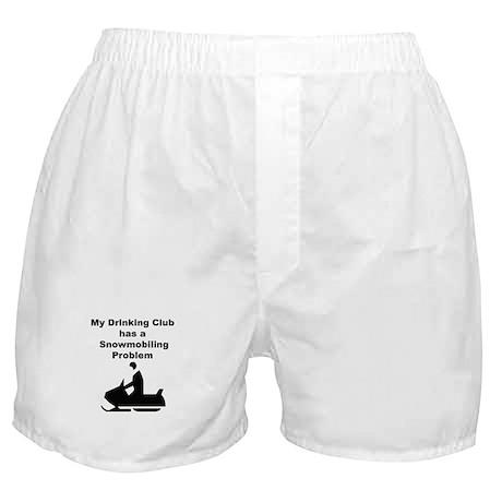 Snowmobile Boxer Shorts