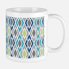 Diamond Geometric Pattern Mug