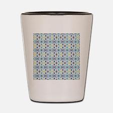 Diamond Geometric Pattern Shot Glass
