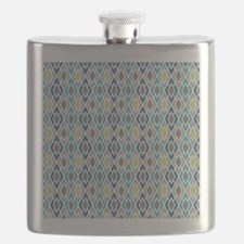 Diamond Geometric Pattern Flask