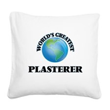 Funny Buy plaster Square Canvas Pillow