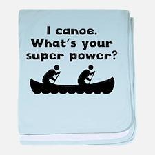 I Canoe Super Power baby blanket
