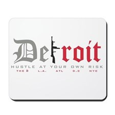 Detroit Tommy Gun Mousepad