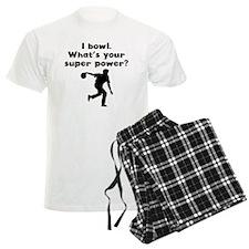I Bowl Super Power Pajamas