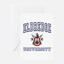 ELDREDGE University Greeting Cards (Pk of 10)