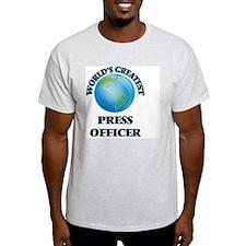 World's Greatest Press Officer T-Shirt