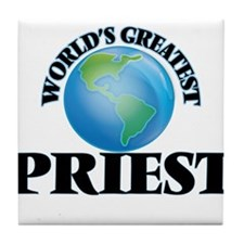 Unique Priest Tile Coaster