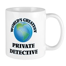 World's Greatest Private Detective Mugs