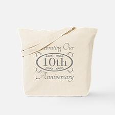 10th Wedding Anniversary Tote Bag