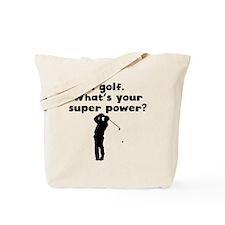 I Golf Super Power Tote Bag