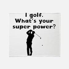 I Golf Super Power Throw Blanket