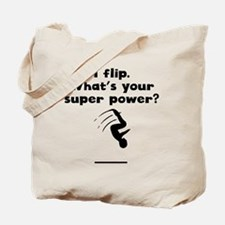 I Flip Super Power Tote Bag