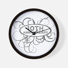 Funny 1 year wedding anniversary Wall Clock