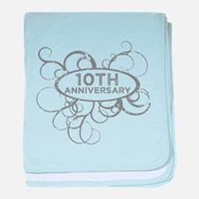 10th anniversary baby blanket