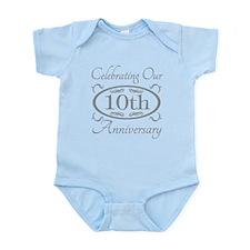 10th Wedding Anniversary Body Suit