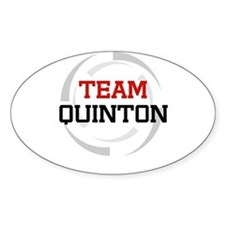 Quinton Oval Decal