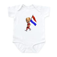 Netherlands Girl Infant Bodysuit