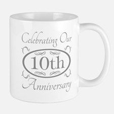 10th Wedding Anniversary Mugs