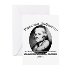 Thomas Jefferson 18 Greeting Cards (Pk of 10)
