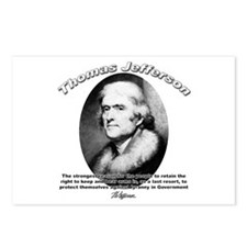 Thomas Jefferson 18 Postcards (Package of 8)