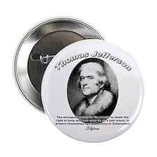 Thomas Jefferson 18 Button