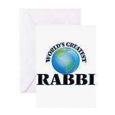 World's Greatest Rabbi Greeting Cards