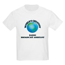 World's Greatest Radio Broadcast Assistant T-Shirt