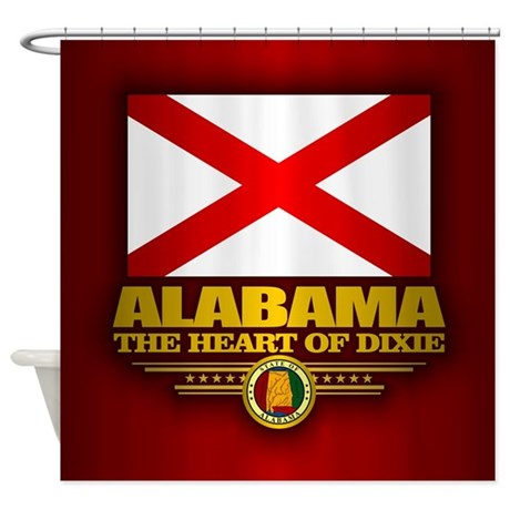 Alabama (f15) Shower Curtain