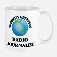 World's Greatest Radio Journalist Mugs