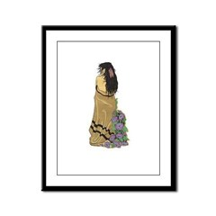 Indian Maiden 1 Framed Panel Print