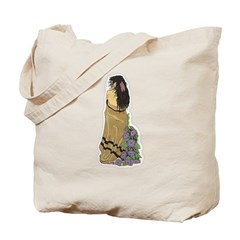 Indian Maiden 1 Tote Bag