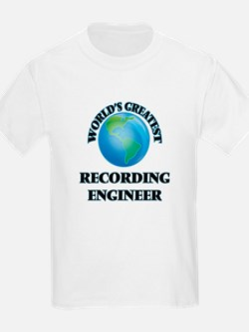 World's Greatest Recording Engineer T-Shirt