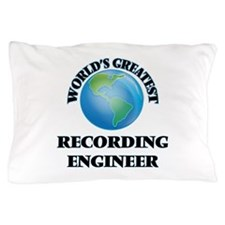 Cute Recording engineer Pillow Case