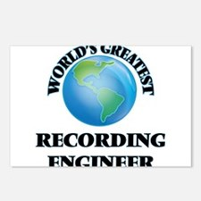 Cute Recording engineer Postcards (Package of 8)